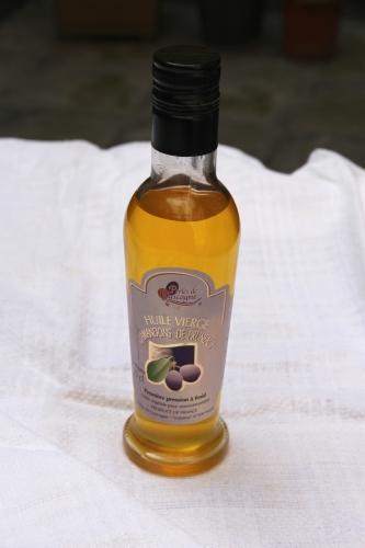 huile d'amandons de pruneaux,glace à l'huile d'amandons de pruneau