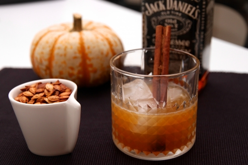 Old Pumpkin, cocktail au potiron