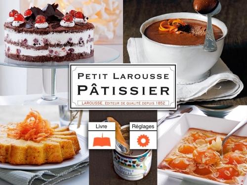 Petit Larousse pâtissier, Applications cuisine, cuisine iPad, Carnet 2012 Omnivore