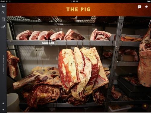 Trois modèles d'applications culinaires américaines: bacon, cocktails & Cie