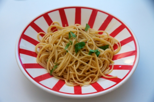 Pasta aglio, olio e peperoncino: délicieuses pâtes pour faignants