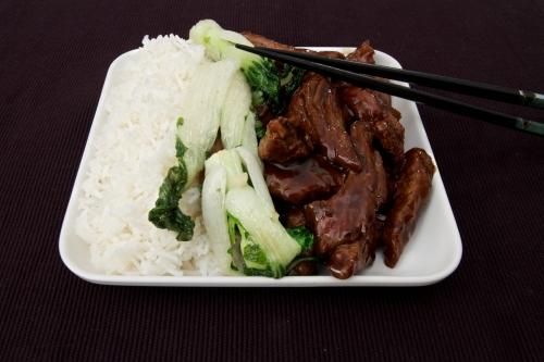 Ken Hom, recette chinoise, cuisine chinoise, recette Ken Hom, boeuf sauté