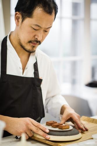 Degeimbre, chef de cuisine et d'entreprise