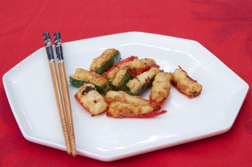 Cuisine chinoise, recette chinoise, piments farcis