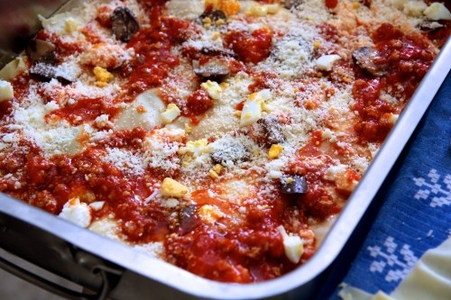 Lasagnes comme au Sud de l'Italie