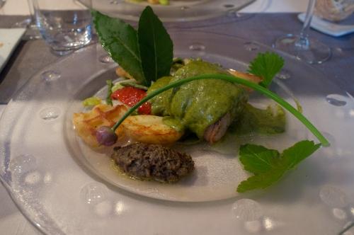 Grand Ryeu, Restaurant Botte du Hainaut, Alain Boschman