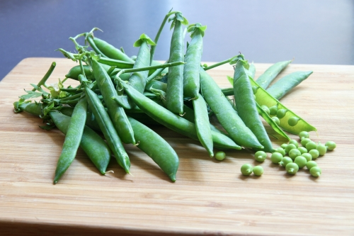 Bouillon de langoustines, recette Saint-Jacques, légumes de printemps