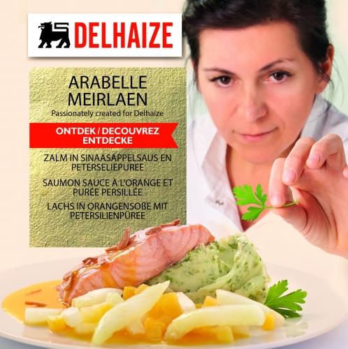 Arabelle Meirlaen, plats préparés, Delhaize, Gert De Mangeleer