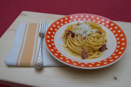 spaghetti carbonara,produits wallons,d'ici nannines