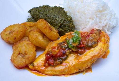 Poulet A L Huile De Palme Rouge Sauvage Slow Food La Cuisine A