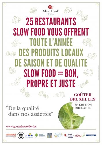 Une année Slow Food! 6ème édition de Goûter Bruxelles