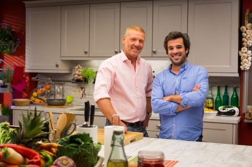 Sans chichis, émission de cuisine, Gérald Watelet, Adrien Devyver, Un gars un chef