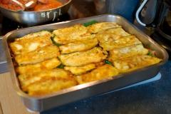 Recette aubergine, millefeuille de légumes, Moussaka revisitée