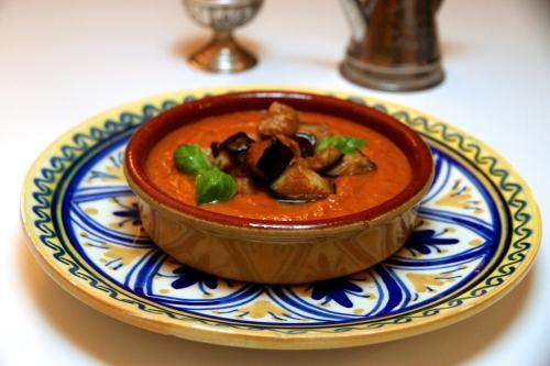 Soupe d'aubergine, recette Ottolenghi, Yotam Ottolenghi
