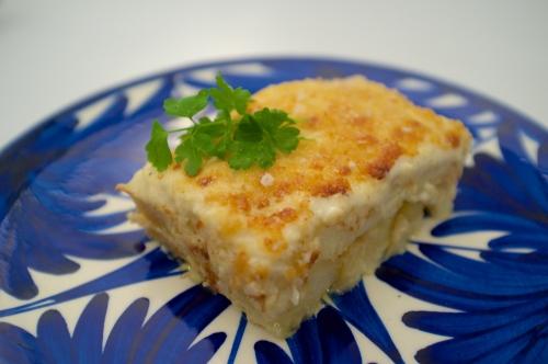 Bacalhau com natas (morue aux pommes de terre à la portugaise)