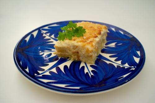 recette portugaise,recette bacalhau,bacalhau com natas,recette morue