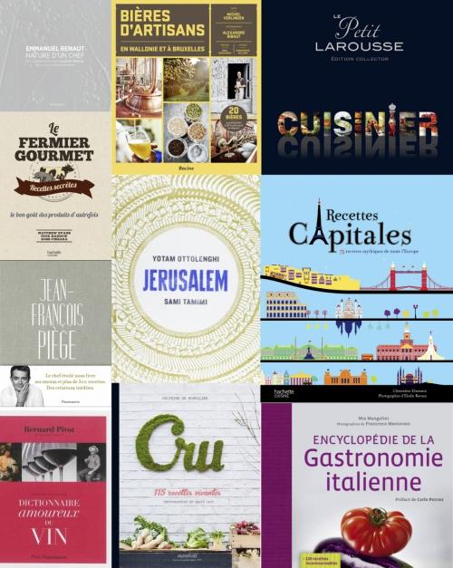 Sélection de livres gourmands pour vos cadeaux de Noël