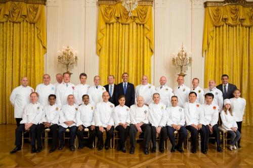 Chefs des chefs: dans les cuisines du pouvoir