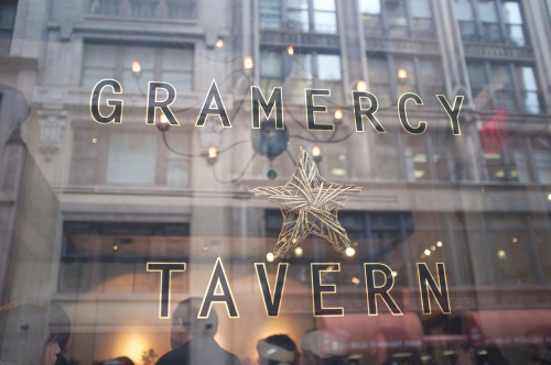 Gramercy Tavern: Le raffinement new-yorkais