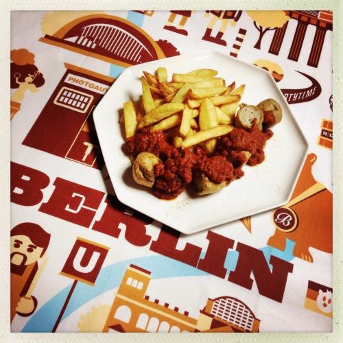 Une Currywurst comme à Berlin!