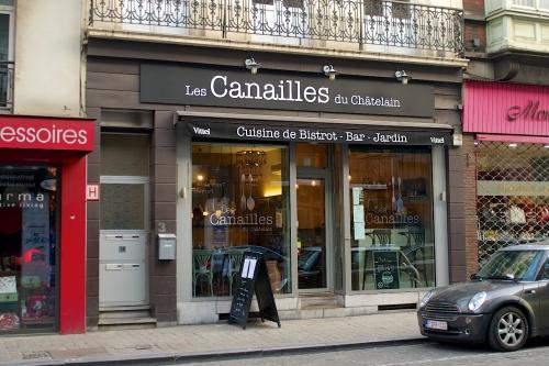 Les canailles du Châtelain: simplement bon (FERME)