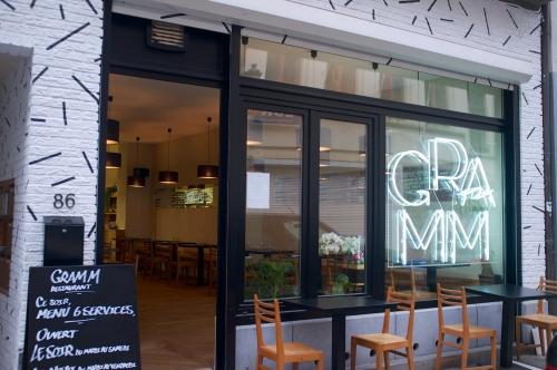 «Gramm»: bistro franco-nippon