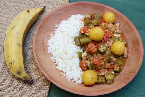 Cuisine créole, recette cubaine, cuisine antillaise, Quimbombo