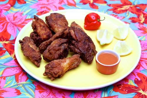 Chicharrón de pollo ou le poulet frit à la dominicaine