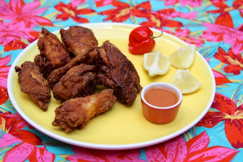 Poulet frit, recette antillaise, cuisine créole, Chicharrón de polo