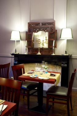 serge mautret,l'art des mets,restaurant mons