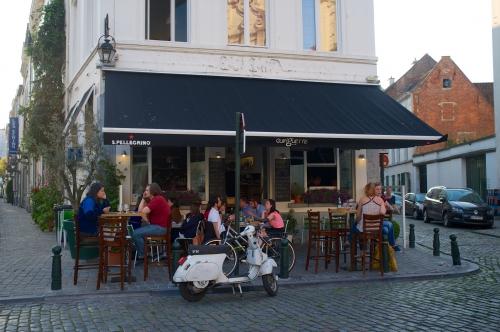 «La guinguette en ville», un vrai petit bistrot bruxellois