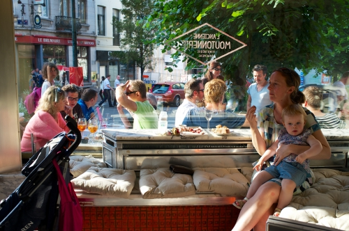 L'ancienne moutonnerie, apéro urbain, pop up vinothèque, bar Saint-Gilles, bar Bruxelles