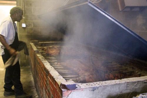 Le barbecue, une tradition du Sud des Etats-Unis