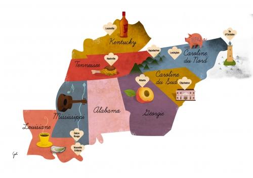 Go South! Road trip gourmand dans le Sud des Etats-Unis