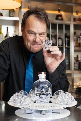 dan aykroyd,vodka,crystal head