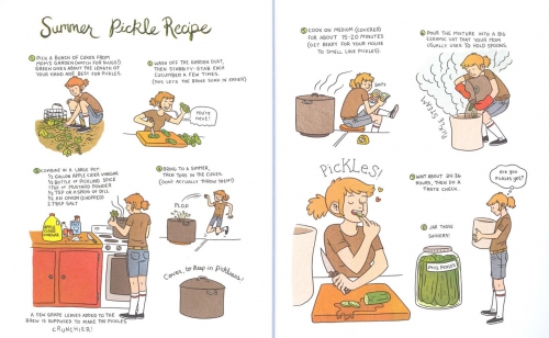 lucy knisley,bande dessinée,bd,délices,bd foodie