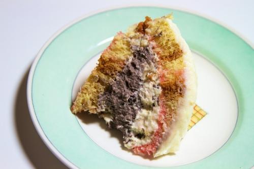 gâteau toscan,zuccotto,fruits confits,recette noël