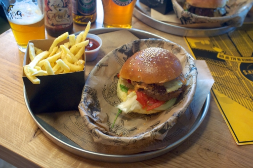 «Manhattn's»: Burgers New York style à Bruxelles