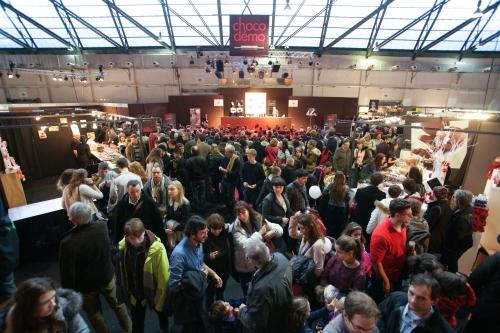 Le 2e Salon du chocolat de Bruxelles en bref