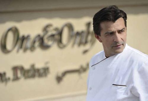 """Yannick Alléno trois étoiles au """"Pavillon Ledoyen"""" au Michelin 2015"""