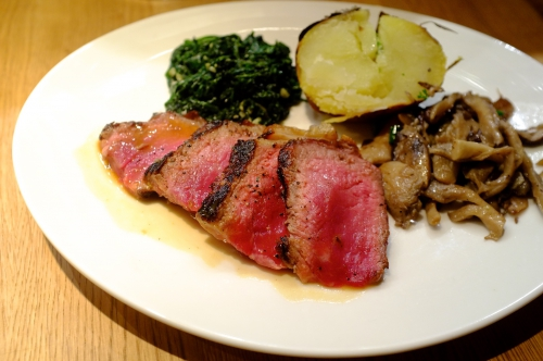 Jack O'Shea Chophouse, steak Bruxelles, steakhouse, Jack O'Shea, entrecôte, viande maturée, dry aged