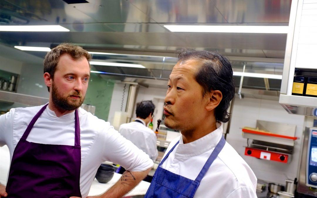 Quatre mains à «L'air du temps»: deux personnalités en cuisines