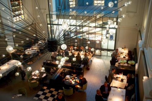 restaurants anvers, bars Anvers, The Jane, Le Dôme