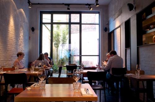 Publie, restaurant étoilé, restaurant Gand, Olly Ceulenaere