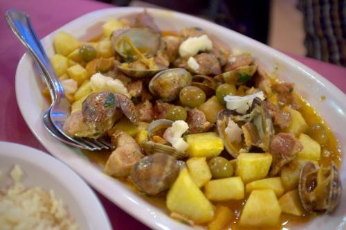 Restaurant portugais, L'amandier, cuisiner portugaise
