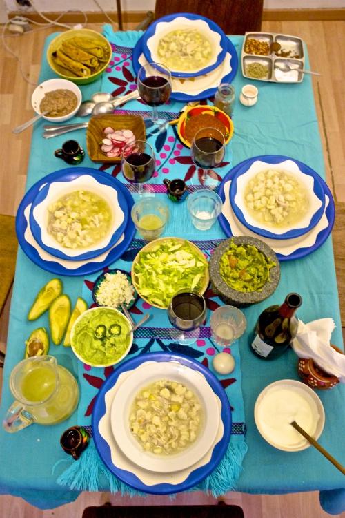 cuisine mexicaine,cuisine d'expats,taco mobil,pozole