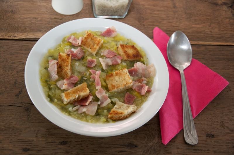 recette soupe,poireaux,pommes de terre