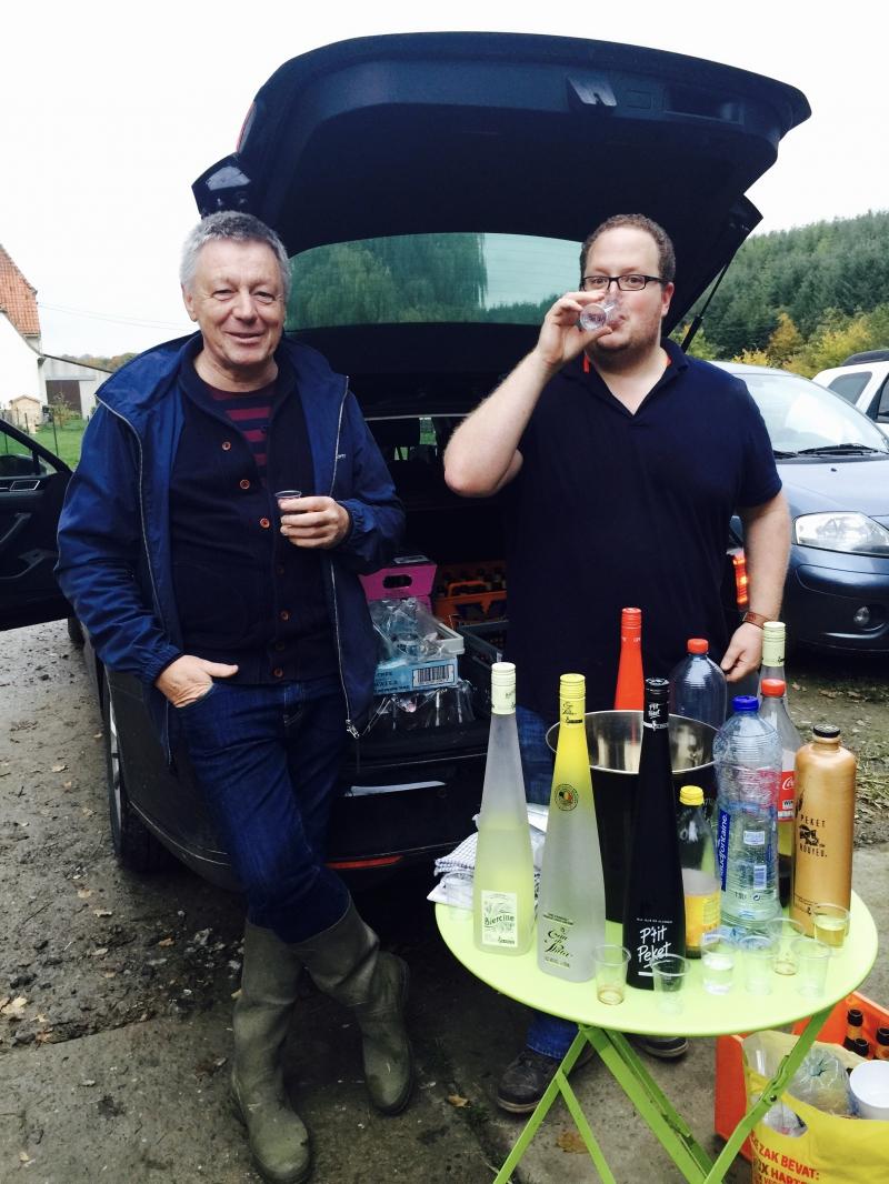 cocktails,distillerie de biercée,bar jigger's,olivier jacobs