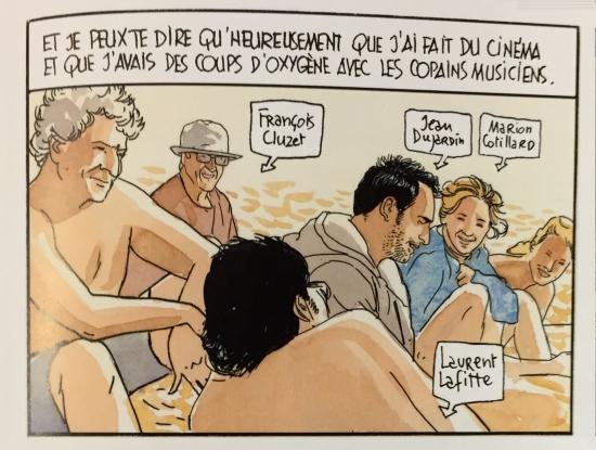 chef,yves camdeborde,frères de terroirs,bande dessinée gourmande,jacques ferrandez