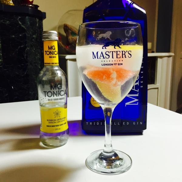 Le  gin Master's disponible en Belgique